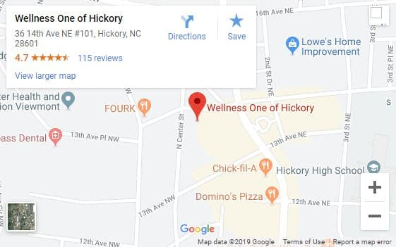 Locate Wellness One of Hickory in Hickory NC