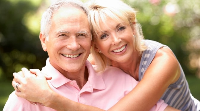 Chiropractic Hickory NC Wellness One Senior Couple